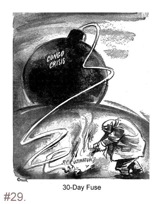 Congo Crisis Political Cartoon