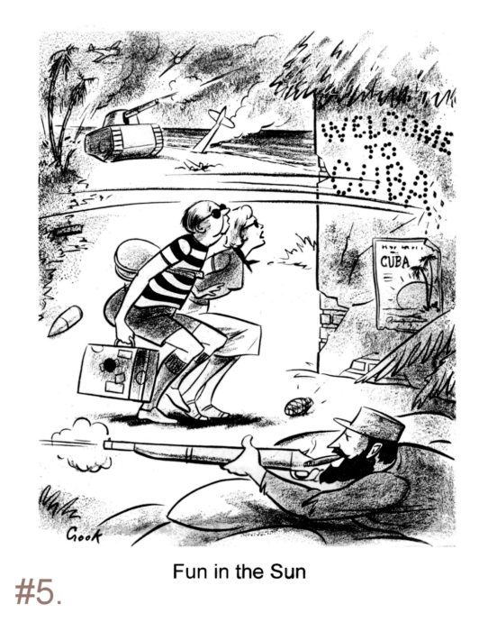 Political Cartoon - Oct 1959