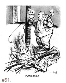 Nikita Khrushchev - Political Cartoon
