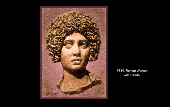 Roman Woman with Hairdo